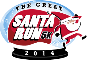 The Great Santa Run 2014