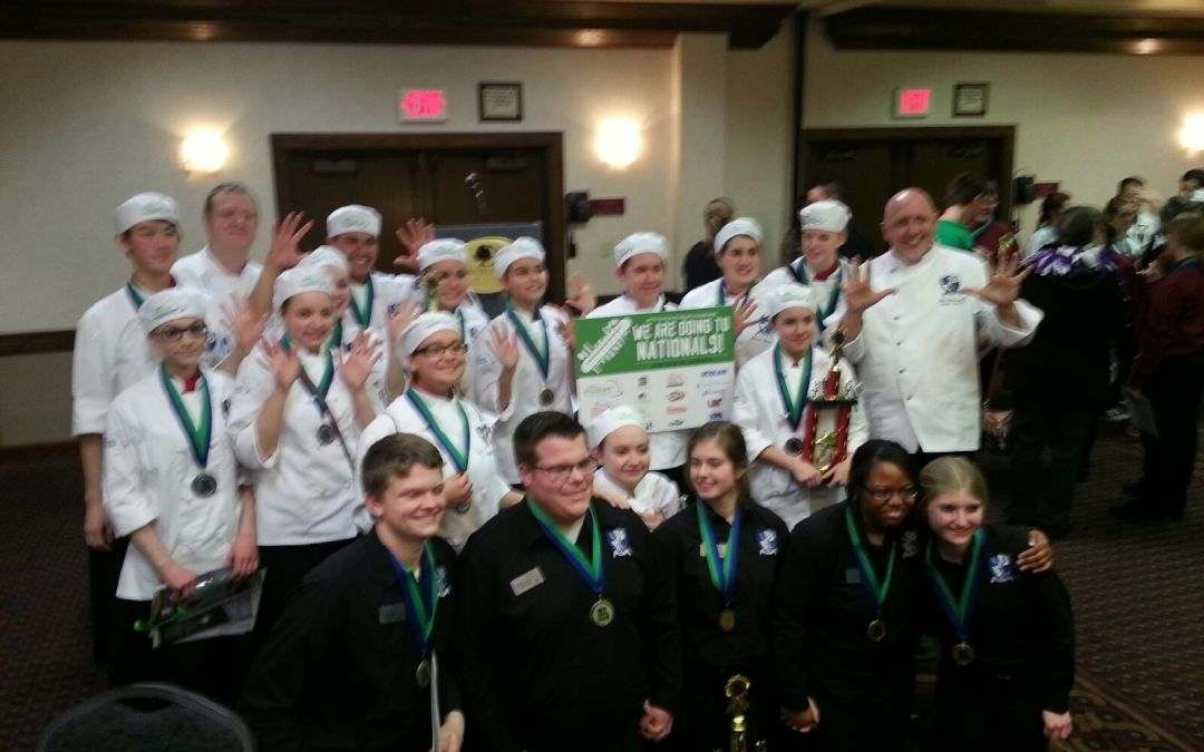 Olathe District Culinary Arts Program Students Sweep Entire Kansas State ProStart Invitational Competition